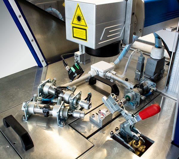 tester pritiska sa laserskim graviranjem i vizuelnom inspekcijom alat
